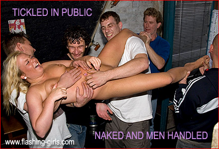 groped Naked girls