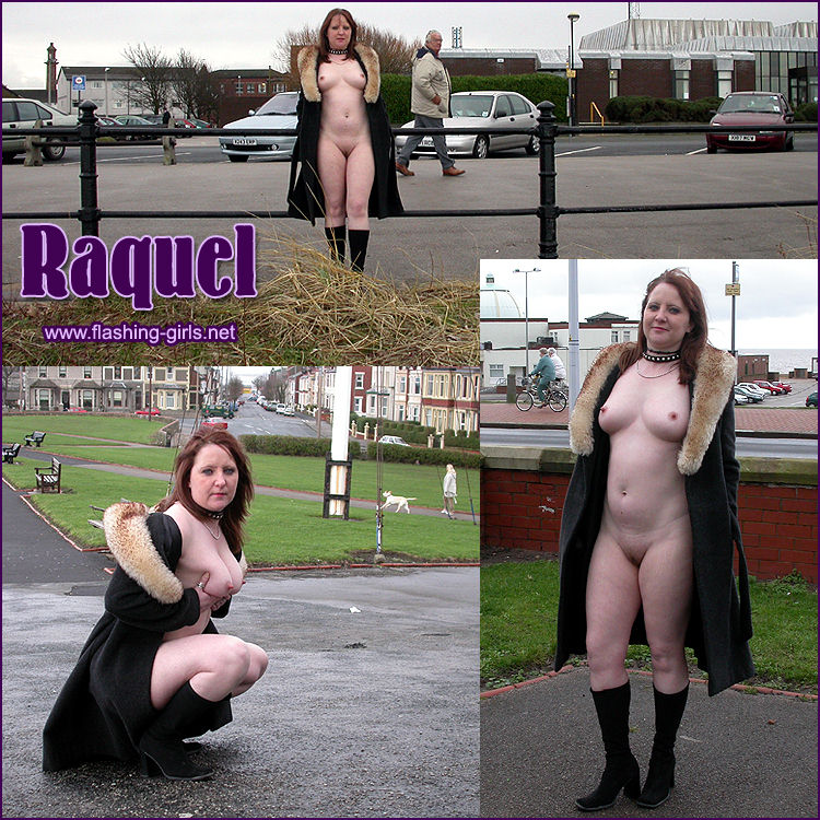 Raquel flashing in Lancashire she strips off naked in public. Videos and ...