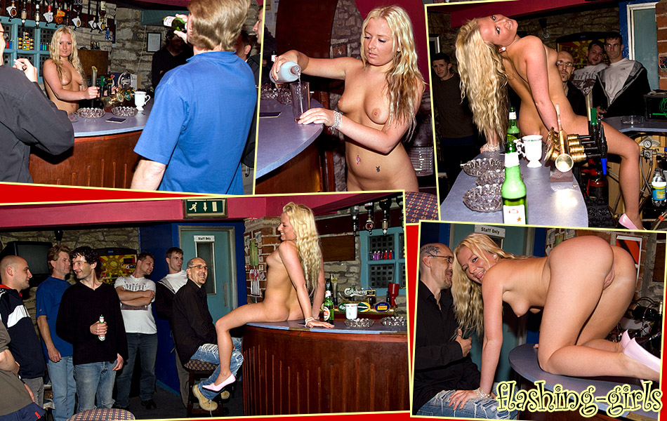 Bar Girls Nude At Work